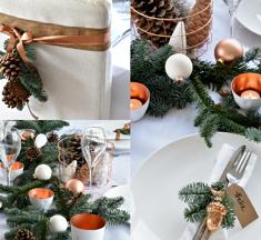Botanische kersttafel dekken: 10 tips!