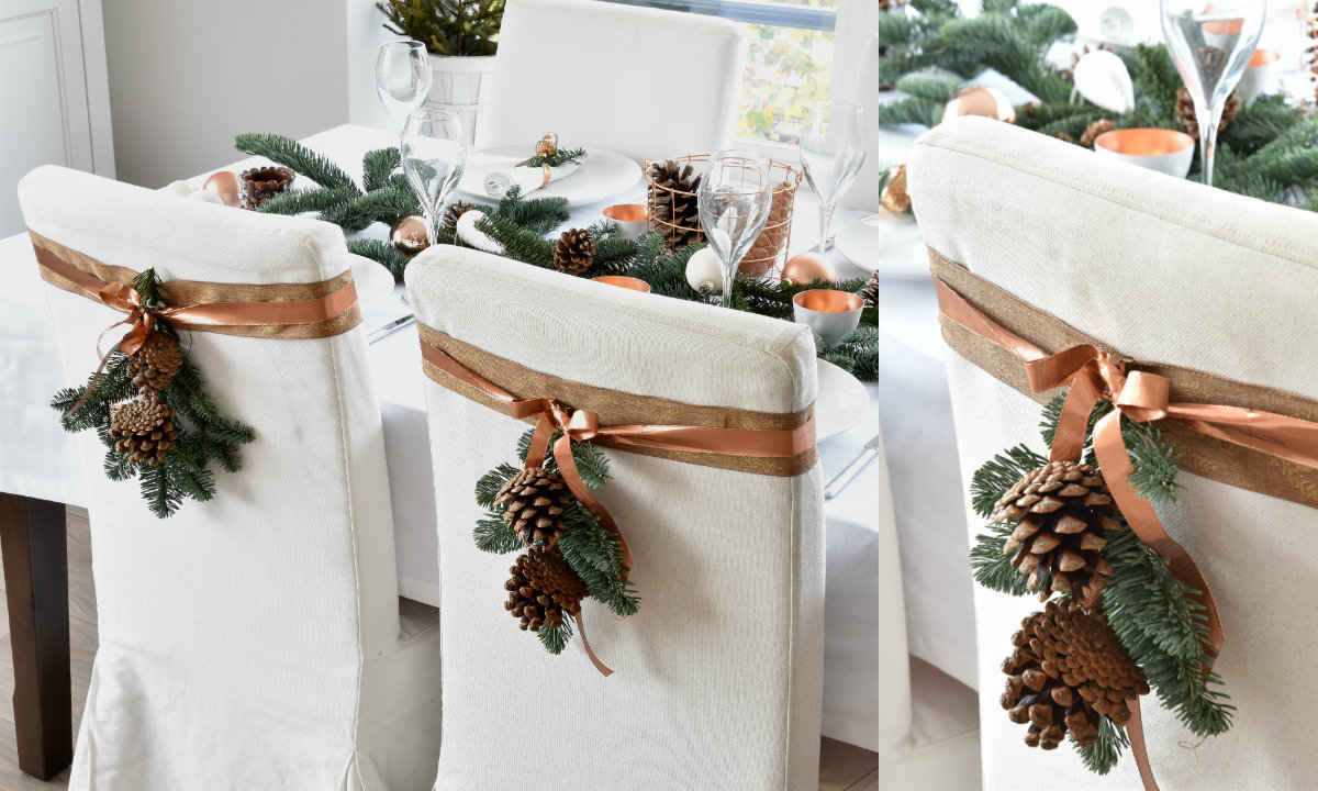 Kersttafel dekken ideetjes voor een feestelijk versierde tafel