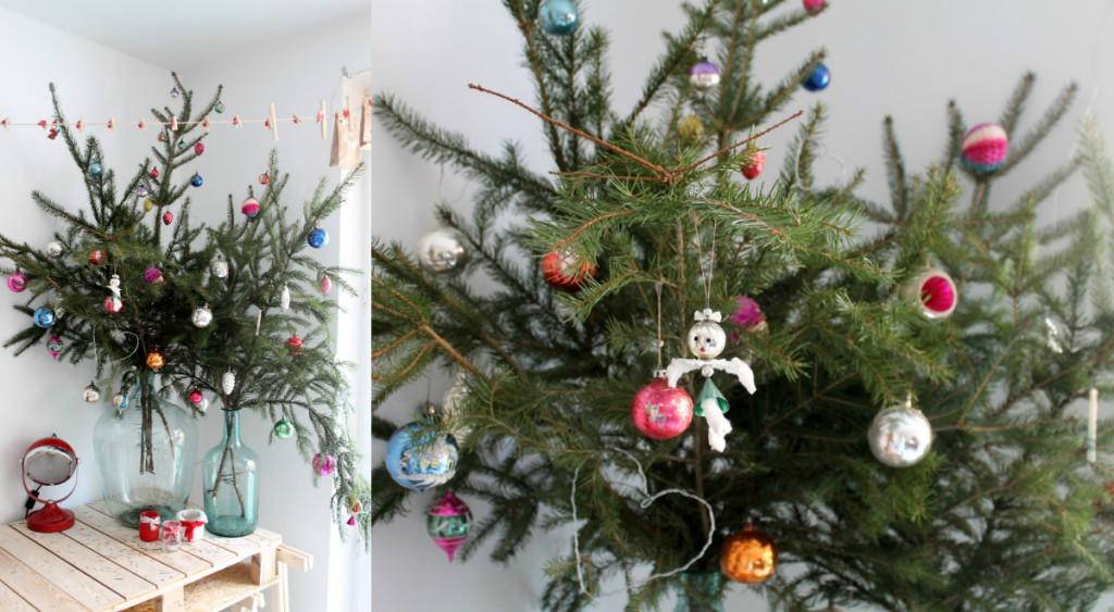 collage tak kerstboom in vaas veriseren