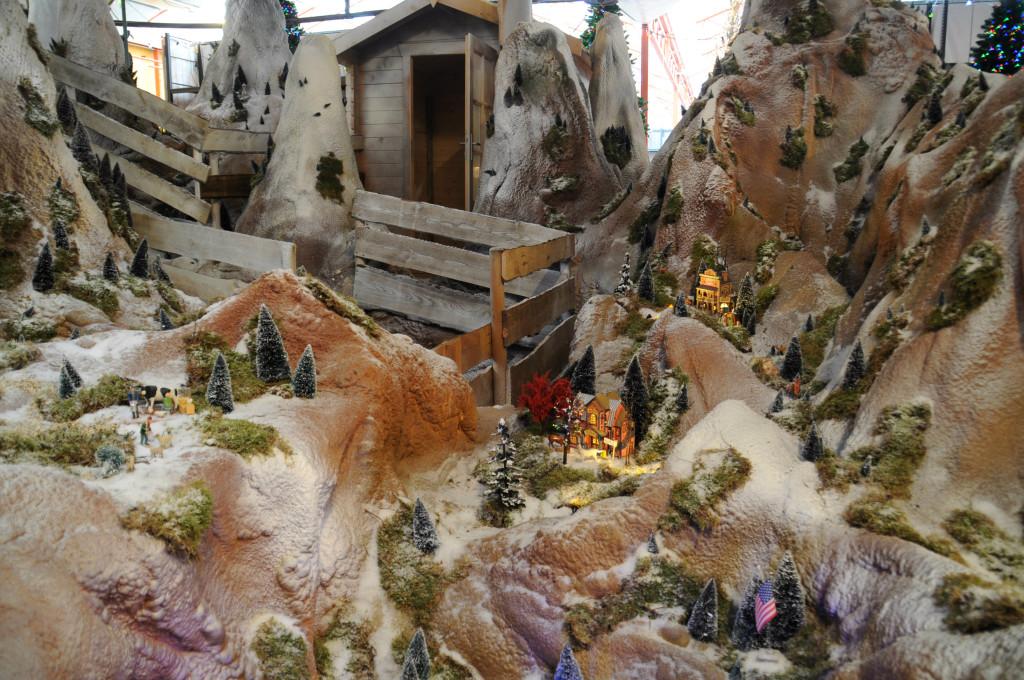 kerstdorpjes tuincentrum osdorp