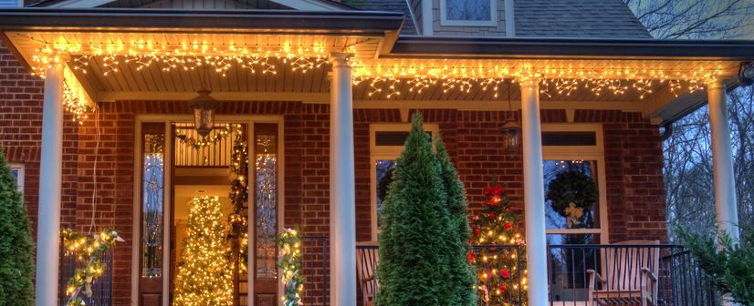 Kerstversiering in je tuin of op je balkon 8 idee n for Huis in tuin voor ouders