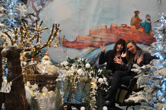 lindy saskia christmaholic tuincentrum osdorp 2015 kerstshow