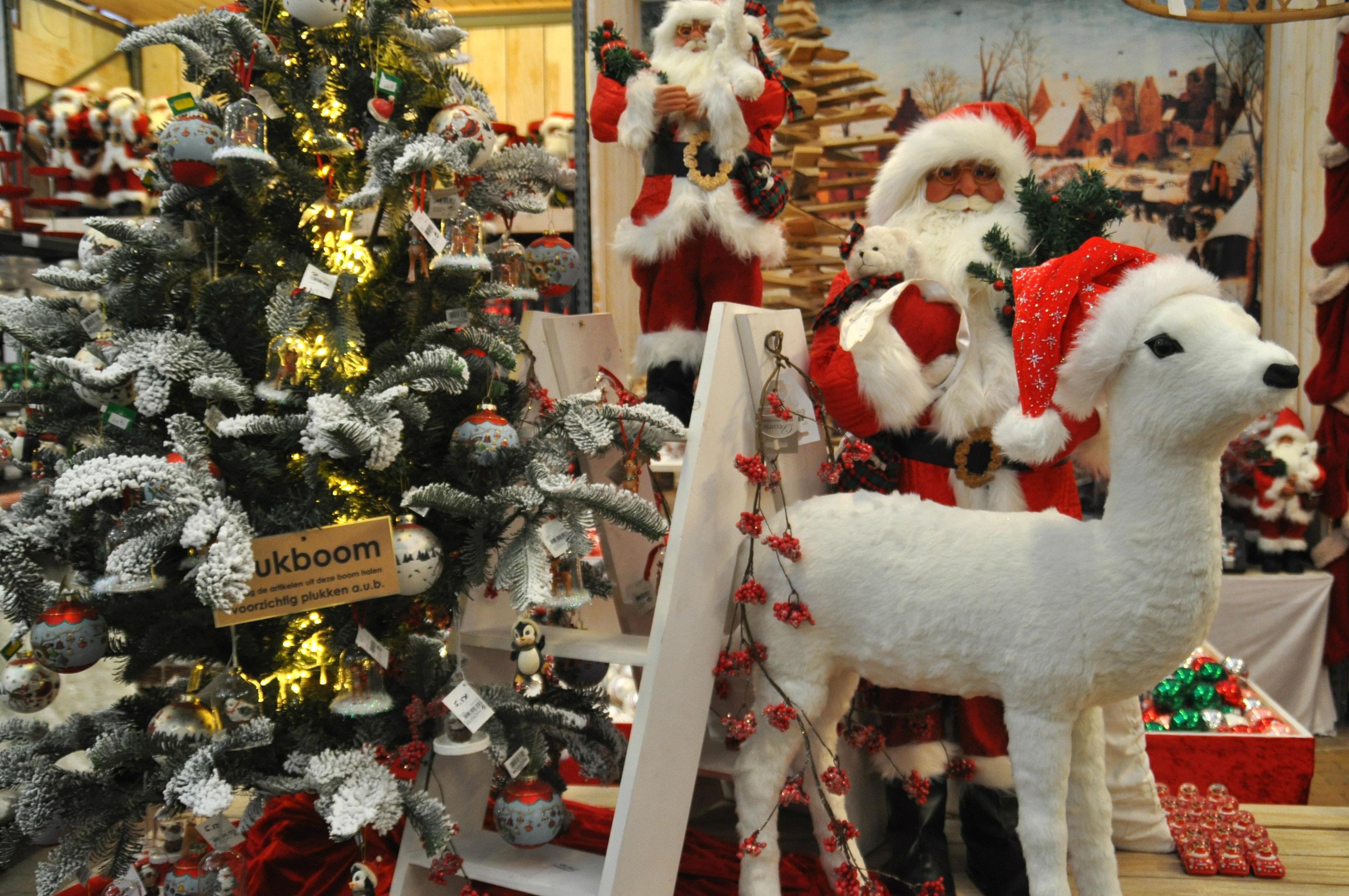 nostalgische kerstversiering tuincentrum osdorp kerst 2015