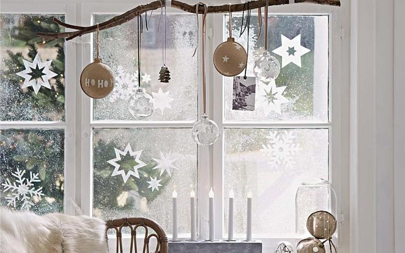 Magnifiek 10 ideetjes om je ramen te versieren voor kerst - Christmaholic.nl @BN54