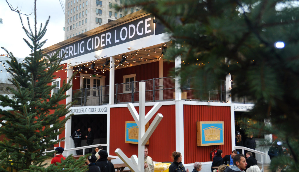 cider lodge kerstmarkt londen 2015