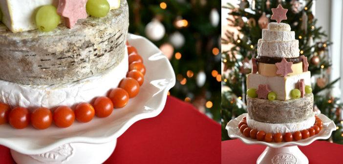 DIY kerstboom van kaas (& andere eetbare kerstbomen)