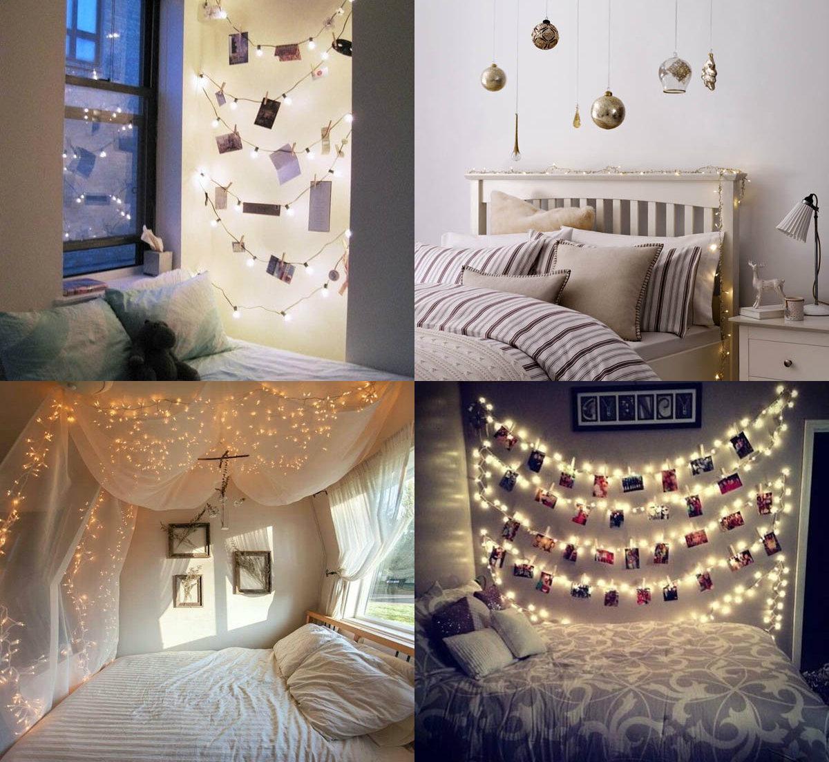 je slaapkamer versieren voor kerst  ideetjes  christmaholic.nl, Meubels Ideeën