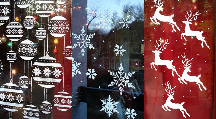 Genoeg 10 ideetjes om je ramen te versieren voor kerst - Christmaholic.nl XC95