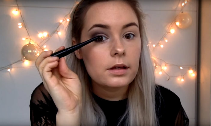 eyeliner opbrengen