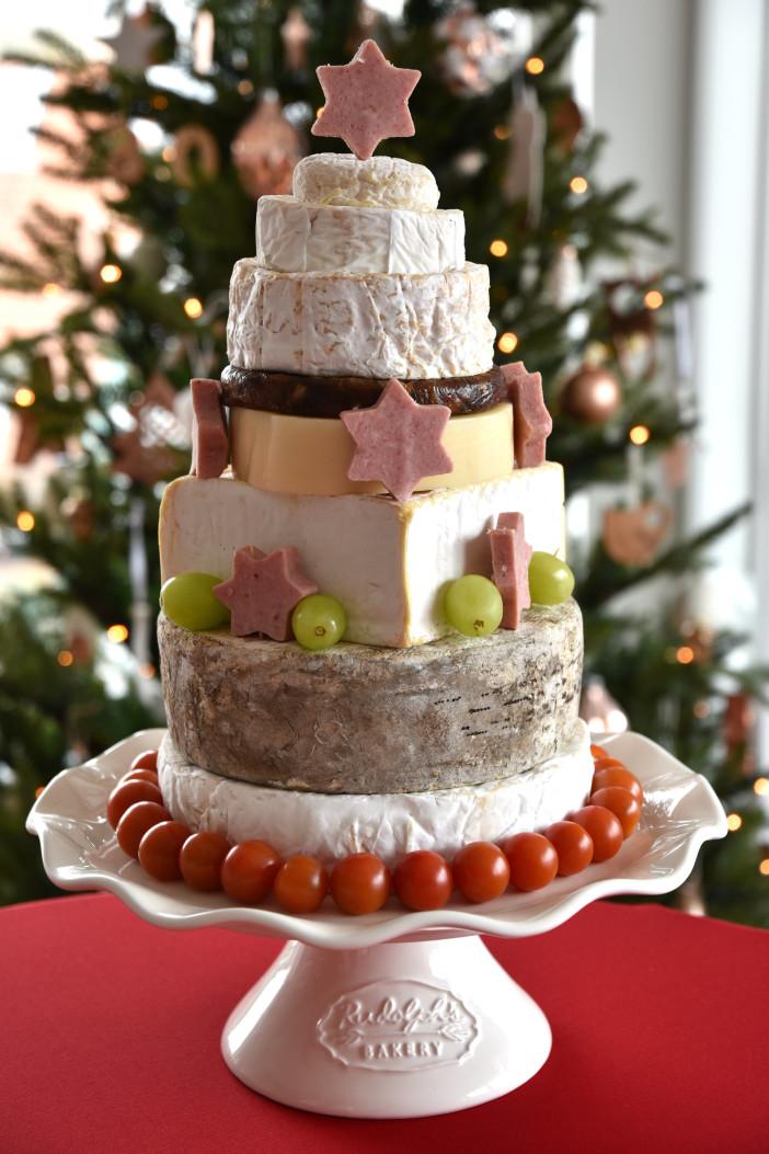 kerstboom van kaas maken