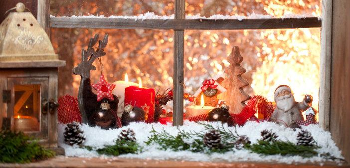 Zeer 10 ideetjes om je ramen te versieren voor kerst - Christmaholic.nl XZ88
