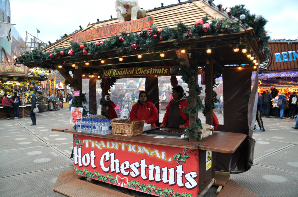 roasted chestnuts london