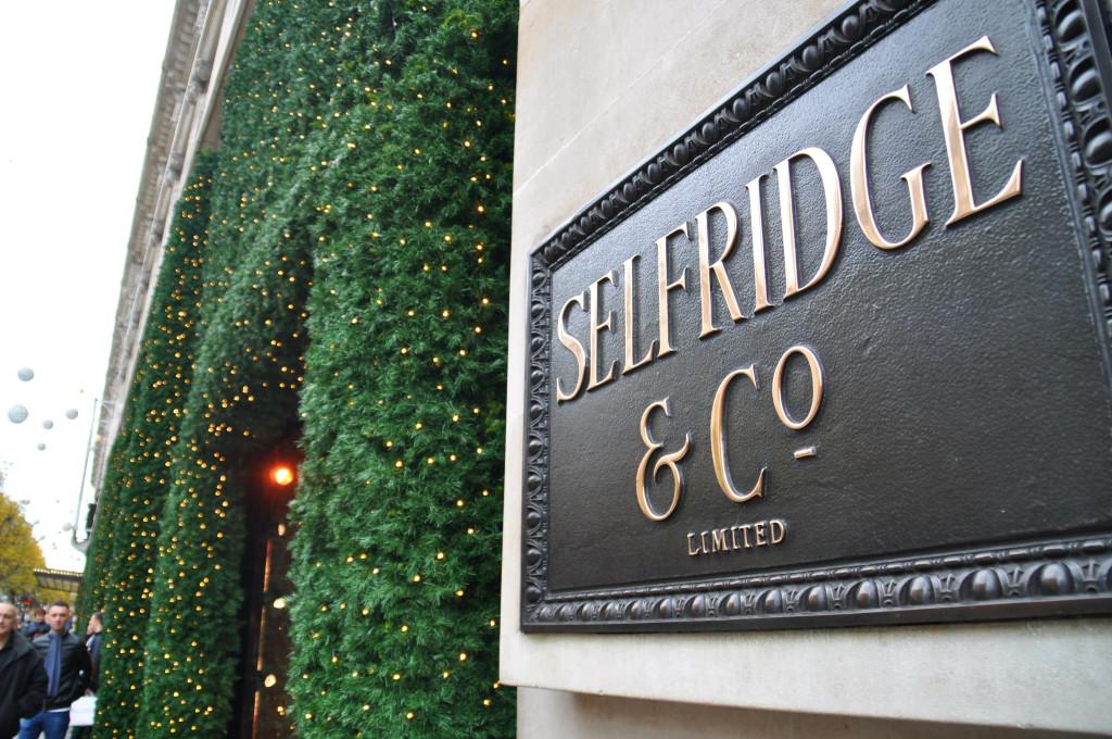 selfridges london christmas