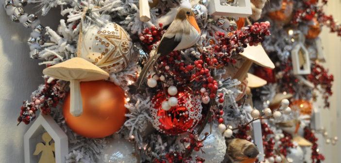 Kersttrend: Scandinavisch met rood, wit & oranje
