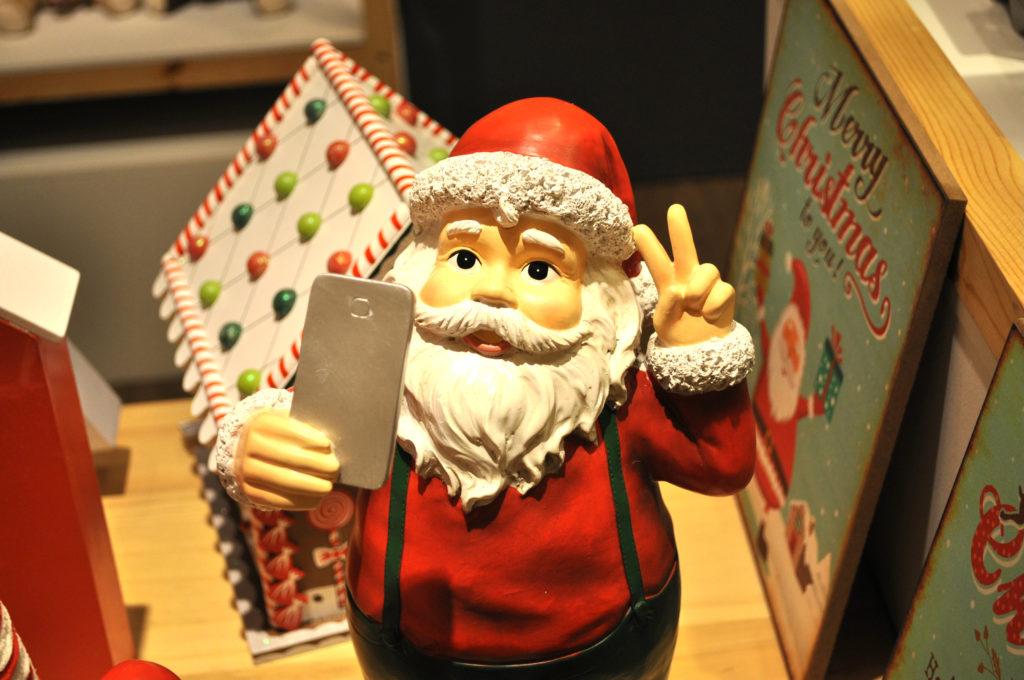 selfie santa 2