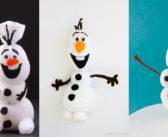 Kerstknutselen: 5x Olaf van Frozen maken