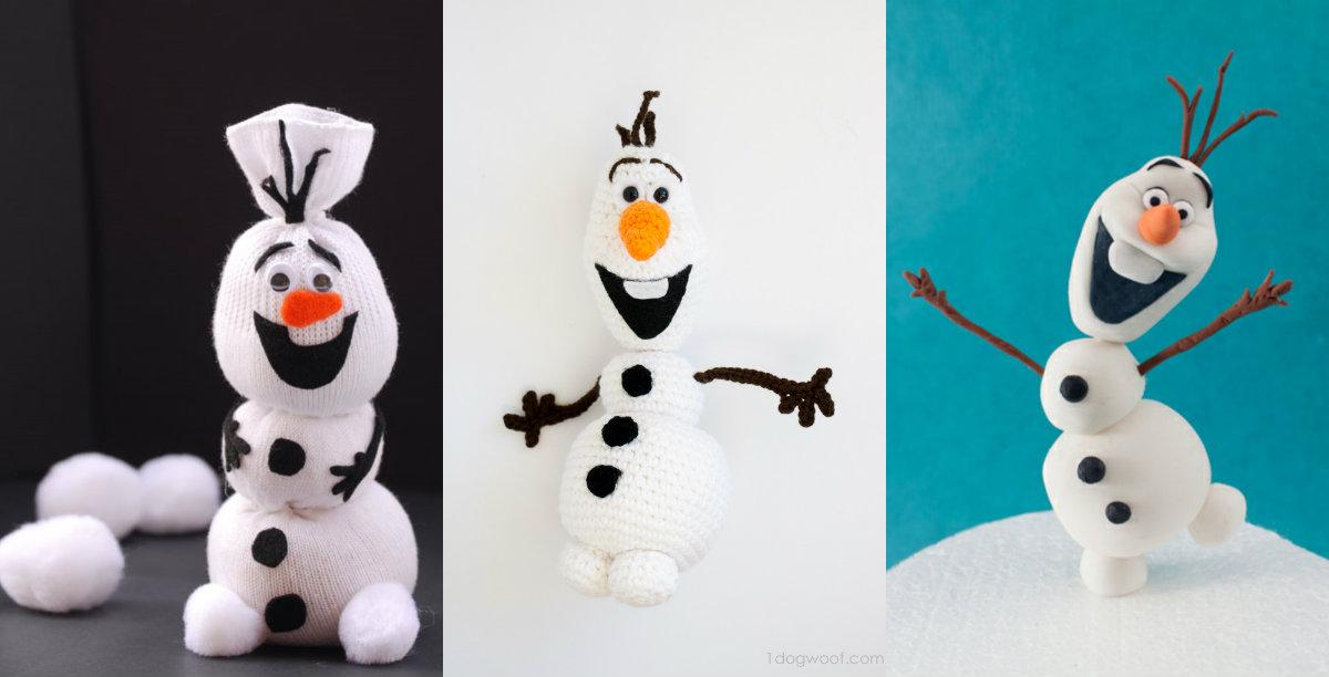 Kerstknutselen 5x Olaf Van Frozen Maken Christmaholic Nl