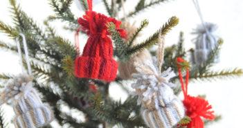 kerst mutsjes maken voor kerstboom