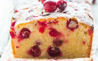 kerst recept cranberry cake