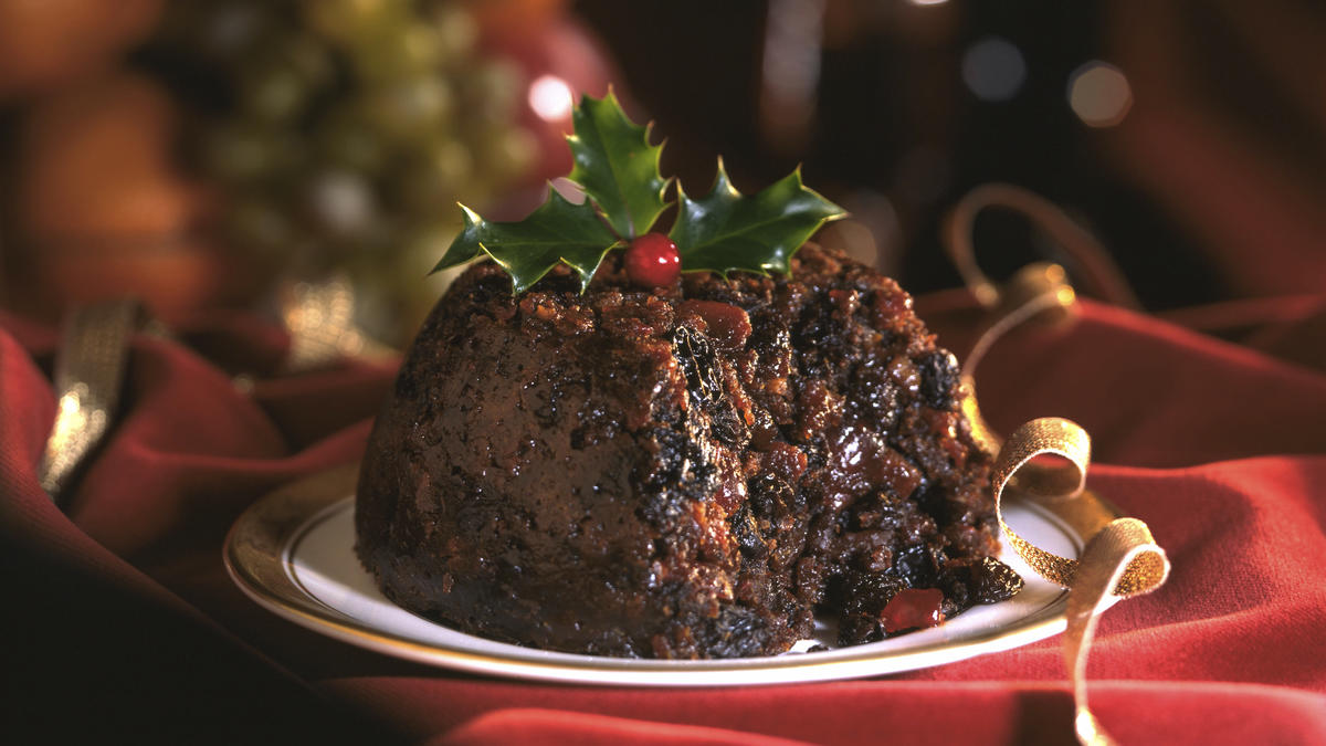 recept traditionele plum pudding