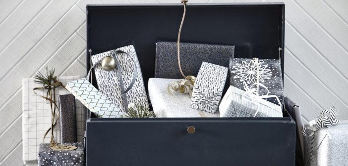 House Doctor: Scandinavische decoratie + kek kerstpapier