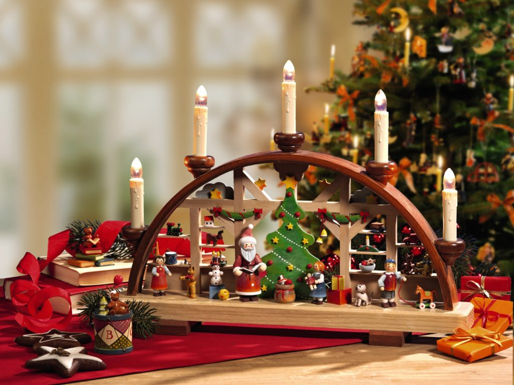 Schwibbogen magic of advent time