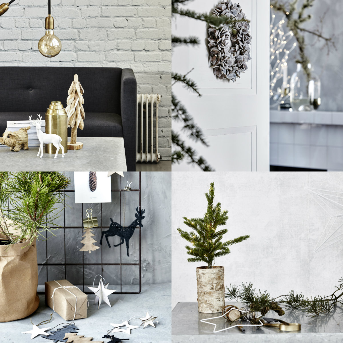 collage kerstcollectie house doctor 2016