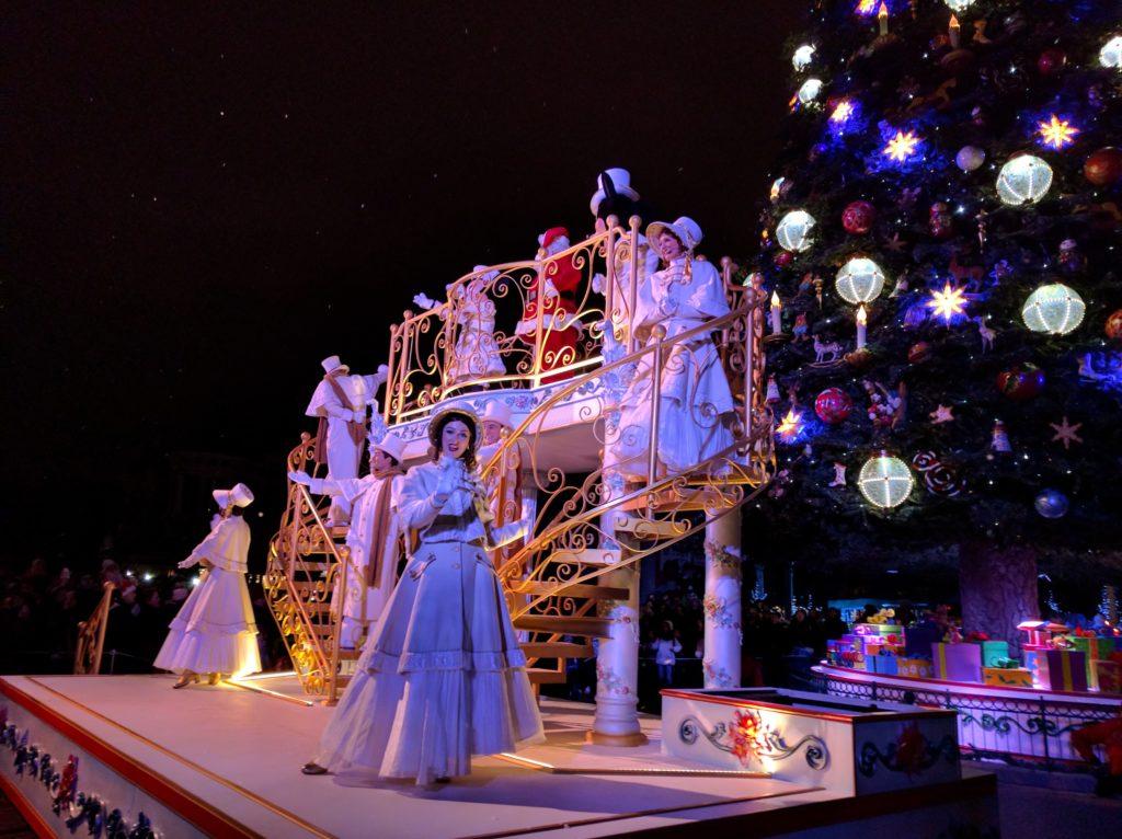 Disney Christmas Lights with Santa 2015