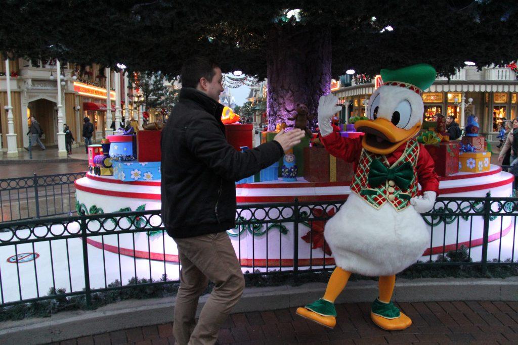 Donald en Arvid kerst 2015