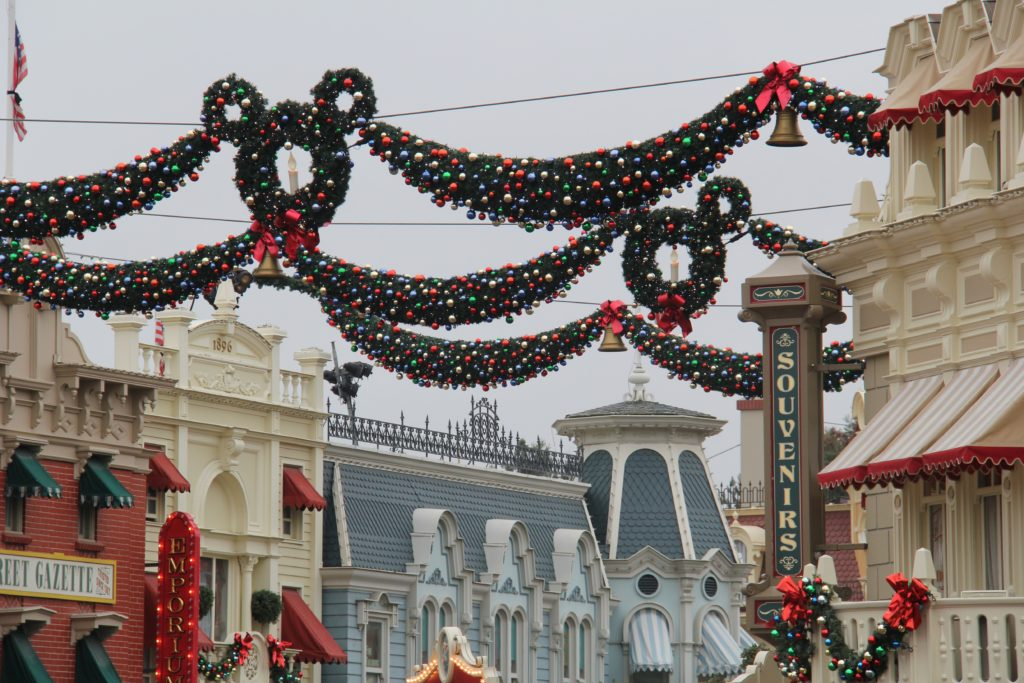 Disney Kerst 2015 Main Street USA