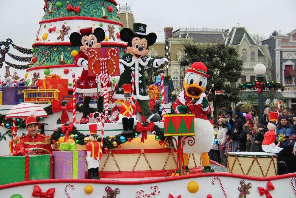 Disney Kerst Parade 2015