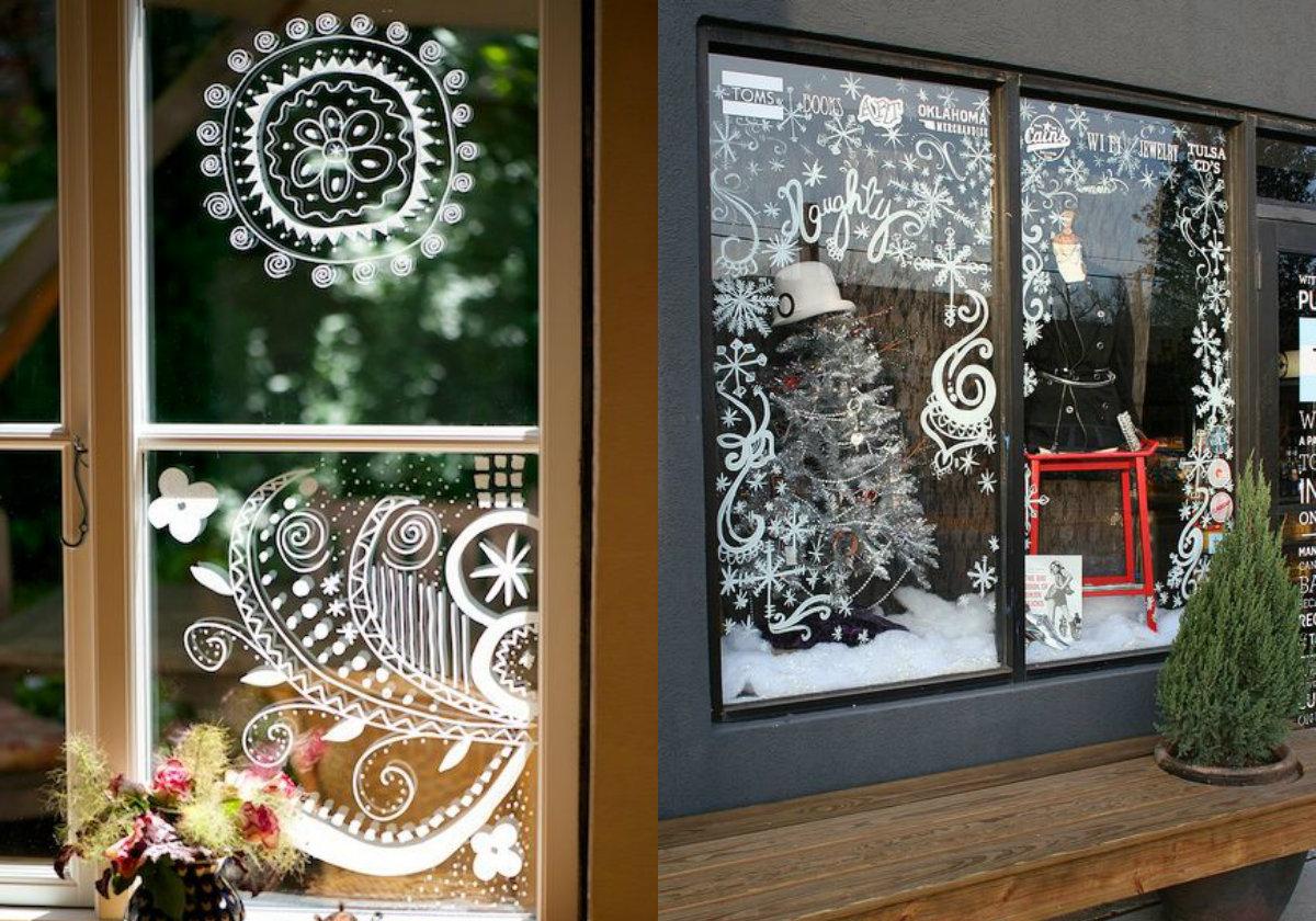 kerst-tekeningen-op-het-raam