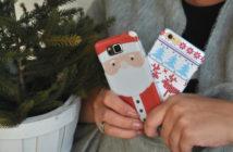 kersthoesje voor je telefoon winnen