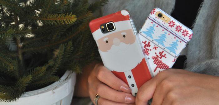 WIN! 4x een winters kersthoesje voor je smartphone