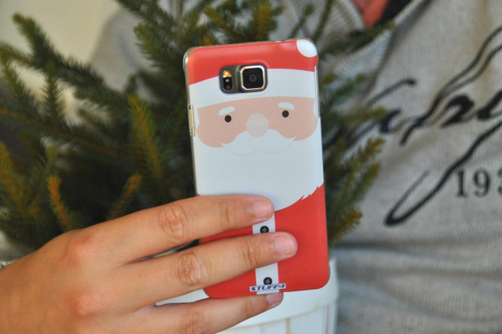 kerstman telefoon hoesje cover