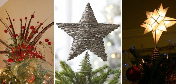 Christmas tree toppers: 10 alternatieven voor de piek