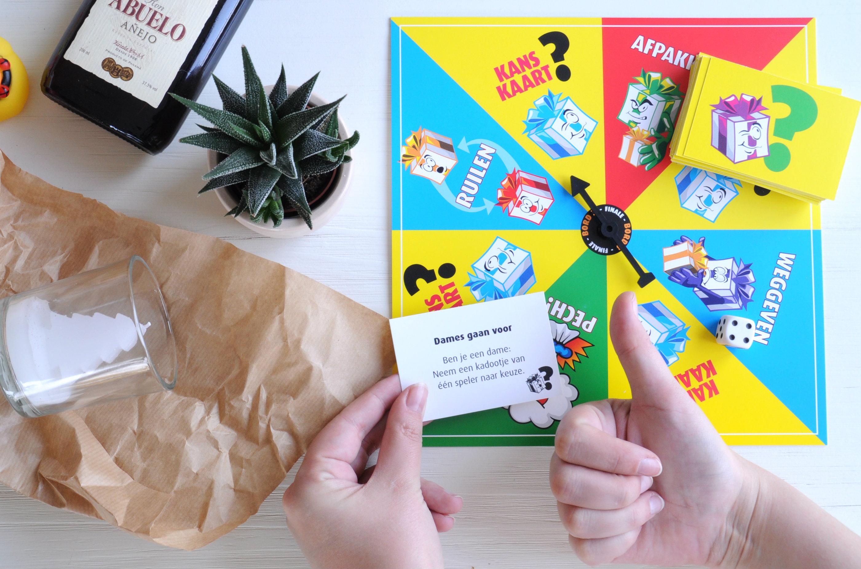 kanskaart-pakjesspel