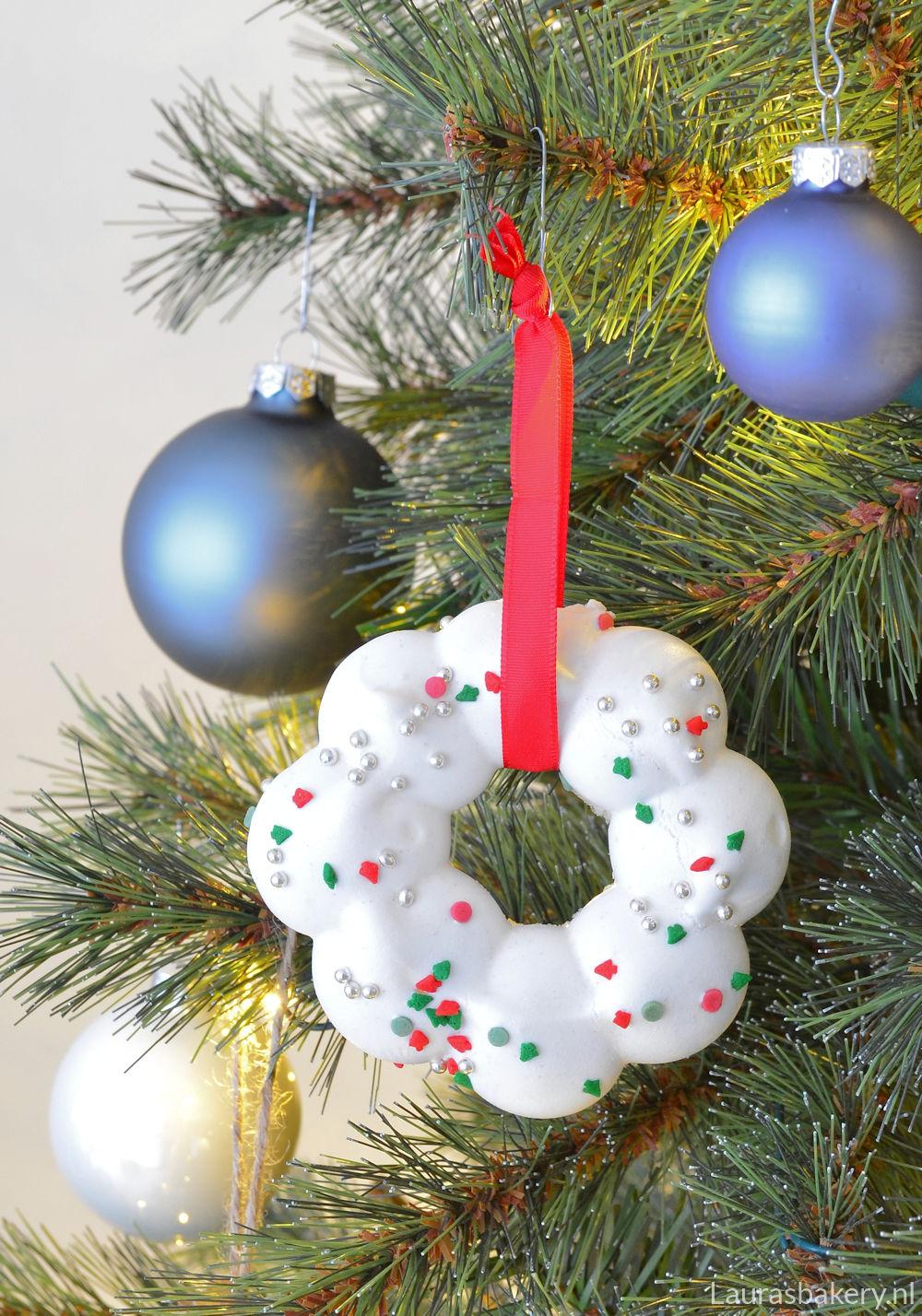 meringue kerstkransjes