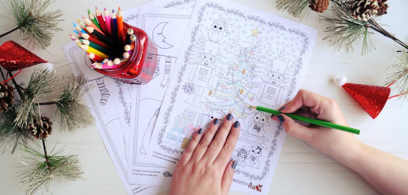 Gratis kerstkleurplaten voor volwassenen n kinderen for Cadeautips voor kinderen