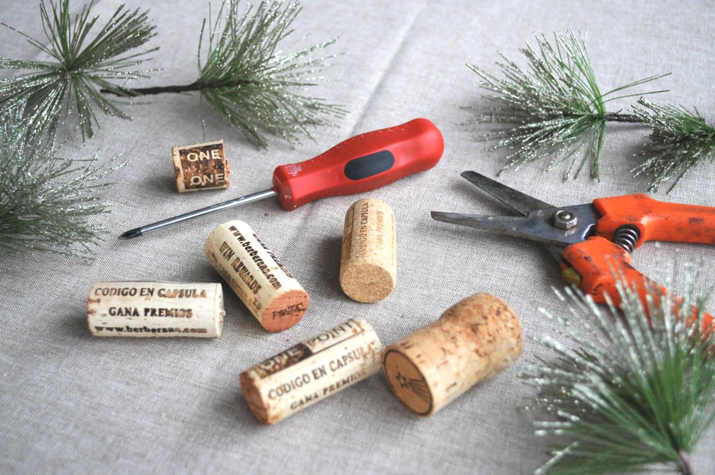 kerstboompjes-van-kurk-maken
