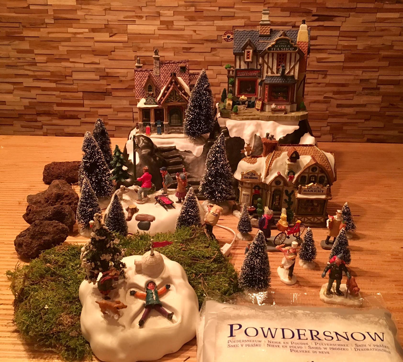 kerstdorp-maken-2
