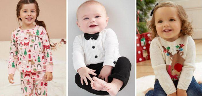Leuke kerstkleding voor baby'tjes en kinderen