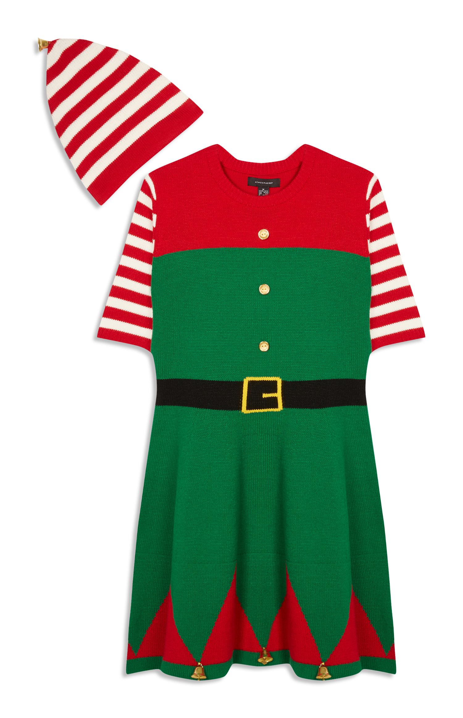 gekke kerst jurk