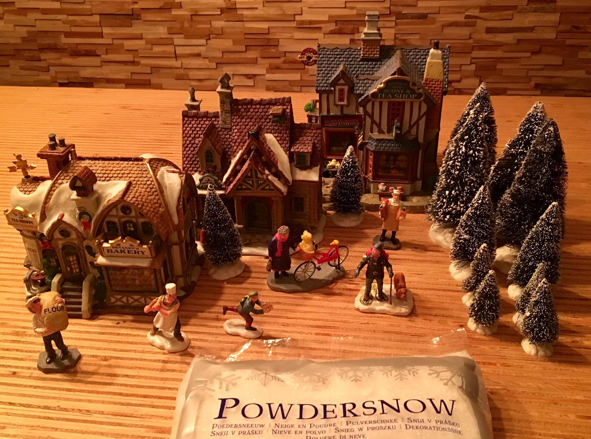 wat-heb-je-nodig-voor-kerstdorp-maken