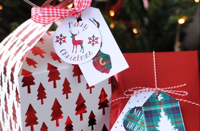 Bekend Kerst cadeaulabels: gratis downloaden & printen - Christmaholic.nl #XP29