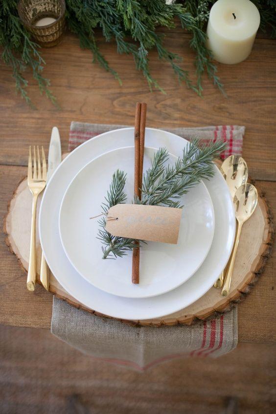 De beste decoratietips voor een pinterest proof kersttafel - Feestelijke tafels ...