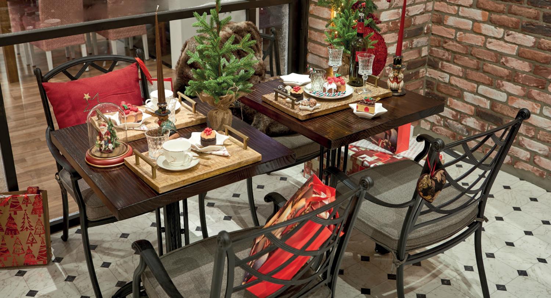 Kersttrend klassieke kerst in het grand café christmaholic