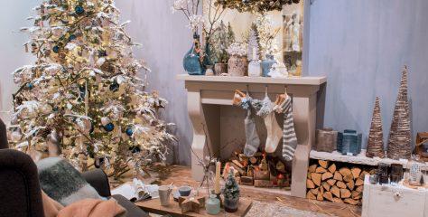 Kersttrend #4: Winters wit met blauw, roze & lila