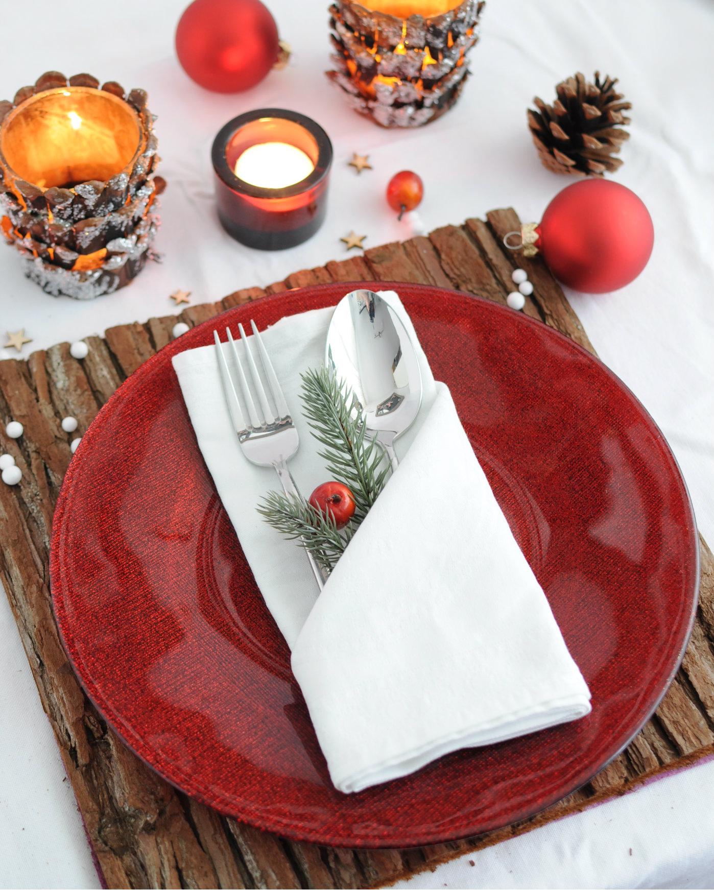 servet vouwen voor kerst