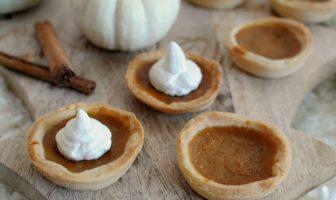 pumpkin spice taartjes recept